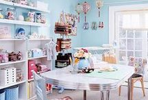 Home: Craft & Sewing Room / by June Girl