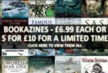 Bookazines / Book-worthy content in a magazine style format, our bookazines are commemorative 100-120 page full colour magazines marking important topics and anniversaries over the last 100 years