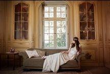 Styled Shoot Vintage Wedding / Labude Brautkleider fotografiert im nostalgischen Stil. Bridal Couture: Labude Fotografin: Lenka Schlawinsky