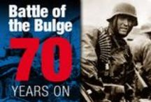 Battle of the Bulge - 70 Years On / The last major Nazi offensive against the Allies in the Second World War – the Battle of the Bulge – began on 16 December 1944 and continued through to early 1945.