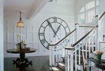 Clock / 時計もインテリアの一部に。http://item.rakuten.co.jp/cheerful/c/0000002321/