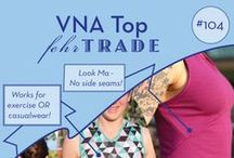 Your Makes: #104 VNA Top by Fehr Trade Patterns / Come & explore great examples of our #104 'VNA Top' digital sewing pattern made by our customers! Be inspired to make your own. Get the pattern at http://shop.fehrtrade.com ----------------- A close-fitting, sleeveless workout top inspired by a 1930s Vionnet evening gown. It features a front V-neck, curved under bust seam, and distinctive angular seaming in back. Neckline and armhole edges are finished with binding, and there are no side seams.