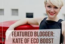 Guest Pinner: Eco Boost / Kate Arnell, of Eco Boost, curates her top picks from Ecohabitude