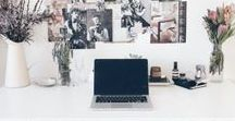 Inspired Workspace / Make a statement where you work.