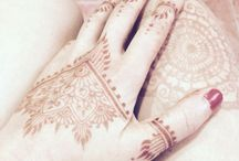 Henna designs / Mandalas, tattoos, mehendi designs, colors and textures that inspire skin decoration