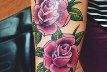 Rose tatoo
