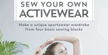 """Makes from """"Sew Your Own Activewear"""" / Curious to see what the designs from the """"Sew Your Own Activewear"""" book look like? We've got you covered! Buy your book at http://amzn.eu/12vcBmL"""