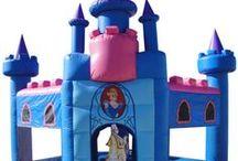 Castillos Hinchables de Cuentos y Princesas / Castillos Hinchables con temática de fantasía para que los niños se sientan dentro de un cuento