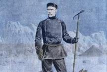 Fridtjov Nansen (1861-1930) / Uno de los grandes personajes noruegos. Explorador polar, científico, diplomático, zoólogo y oceanógrafo. Premio Nobel de la Paz 1922.