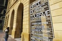 L'Office de Tourisme de Metz / Le réaménagement de l'accueil de l'Office de Tourisme de Metz et la signalétique extérieure.