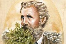 John Muir / John Muir (1838-1914) fue un gran naturalista y conservacionista que creía en la preservación de la naturaleza y la vida salvaje. Su filosofía quedó plasmada en numerosos relatos de sus viajes y caminatas por diferentes lugares del mundo y fue el fundador del Sierra Club.
