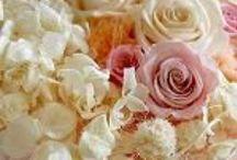 コサージュ・ヘッドパーツ・髪飾り・花冠・小物 / カタログにないオーダーメイドにてアレンジしたプリザーブドフラワー