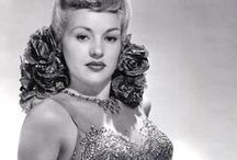 • Betty Grable • / Elizabeth Ruth Grable (Born: December 18, 1916 - St. Louis, MO, USA; Died: July 2, 1973 - Santa Monica, CA, USA) / by Ale Canaya