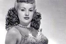 ★ S i m p l y Betty / Elizabeth Ruth Grable (Born: December 18, 1916 - St. Louis, MO, USA; Died: July 2, 1973 - Santa Monica, CA, USA) / by Ale Canaya