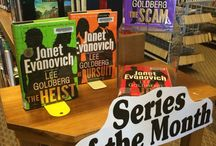What's at the Library this Month / Library Book Displays & Features