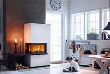 Contura i31 and i41 / Do you want a fireplace with the feeling of an open fire? With the new i31 and i41 from Contura you can have both an exclusive fireplace in stone and an energy saving heat source in one. http://www.contura.eu/