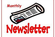 Brooke County Public Library and Follansbee Branch Monthly Newsletters / This board will show the community what is going on at the library each month!
