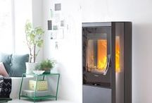 Contura 35 / Contura 35 is a stove with a lot of choices: you can choose between high or low model, three different surrounds, each with its own specific, aesthetic qualities: glossy white steel, sober black steel or natural soapstone. All models have a glass top and side glass areas so more of the fire can be seen.  Find out more: http://www.contura.eu/English
