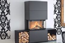 Contura i51 / Modern houses often have a style that best fits with modern form. The fireplace Contura i51 has generous glass on three sides and surrounds in wonderful materials so that you can create the environment that you want.