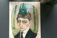 Illustrations by dent de lion. Follow me on FB : Dent de lion / watercolor paintings
