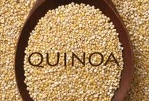 Quinoa - A great food ~ And other Grains Too