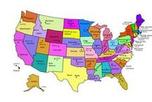 USA / United States places and things / by Vicky Taylor