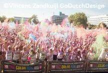THE COLOR RUN ZWOLLE 2013 / GoDutchDesign Vincent Zandkuijl Zondag 7 juli 2013
