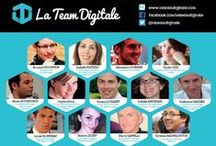 La Team Digitale - The official CM team / Discover here the faces and backstage of the team that drives the digital communication of the show (Stand B025). La Team Digitale is a collaborative pool of communication experts on  web and social media (web agencies, digital, senior trainers and consultants). La Team Digitale brings together the experiences, the expertise and influence networks of its members to deploy the digital influence of the event.
