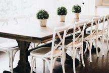 DINING / // dining decor //