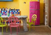 Colorful Kitchen - Cozinha colorida! / by Carine Walker