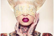 Masquerade /  #fashion #mode #fantasie