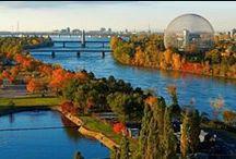 Montreal / Montréal je druhé největší kanadské město, největší město provincie Québec a druhé největší frankofonní město na světě.