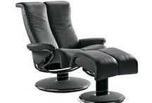 Stressless Recliners / The ultimate in comfort. Designed by chiropractors to eliminate all pressure points on the body. A must have chair! You'll never regret getting one.