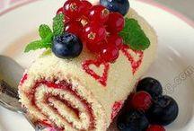 Cake Roll (Rulo Kekler) / Birbirinden şahane rulo kekler ! / by Sevinç Yiğit Arabacı