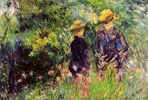 Pierre-Auguste Renoir / (25. února 1841, Limoges, Francie – 3. prosince 1919, Cagnes-sur-Mer, Francie) byl významný francouzský impresionistický malíř
