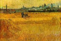 Vincent van Gogh /  (30. března 1853, Zundert – 29. července 1890, Auvers-sur-Oise) nizozemský malíř a kreslíř jeden z největších osobností světového výtvarného umění. Vytvořil v zhruba 900 maleb a 1100 kreseb. Goghovo dílo bylo za jeho života takřka neznámé (prodala se jen jedna malba necelý rok před Goghovou sebevraždou). Za života se Van Gogh nedočkal výraznějšího uznání. Posmrtně však jeho sláva stoupala závratnou rychlostí; zejména po výstavě v Paříži 17. března 1901 (11 let po Goghově smrti)