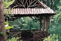 rustic garden / Rustic gardening ideas and design for montana