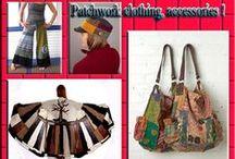 Patchwork clothing, accessories ! / Patchwork giyim ve aksesuar üzerine herşey !
