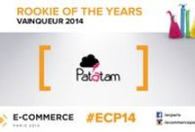 Rookie Of The Year 2014 / 2014 saw the birth of the Rookie of the Year, rewarding the most promising French startups (less than 3 years old) # ECP14 #Rookie