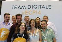 La Team Digitale & guests 2014 / La Team Digitale managed again the digital communication of E-Commerce Paris in 2014. www.lateamdigitale.com Twitter > @lateamdigitale