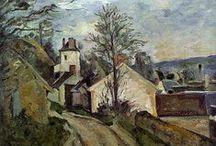 Paul Cézanne / 19. ledna 1839, Aix-en-Provence, Francie – 22. října 1906, tamtéž. Francouzský malíř, významný představitel impresionismu.