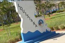 Louisiana / Louisiana je 18. stát Spojených států amerických, k nimž se připojil 30. dubna 1812.Z jihu ji ohraničuje Mexický záliv, ze západu Texas, ze severu Arkansas a z východu stát Mississippi.