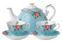 Hora do chá / Louça, porcelana, jogo de chá, aparelho de jantar - um mais fofo q outro