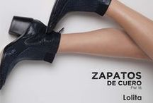 Lookbook Zapatos de Cuero Fall Winter 2016 / Lookbook de zapatos de cuero colección Fall Winter 2016