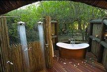 Bath Tubes & Showers / #relax #bath #pools #showers #garden #tubes