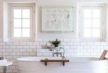 BATH / Bathroom designs we love.