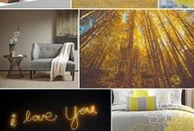 YELLOW / Yellow color inspiration.