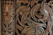 carved / Carving patterns and ideas