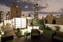 East Side Penthouse / Located in Manhattan's Upper East side, the development of the 1000 Square Feet private rooftop garden focused on creating a contemporary retreat that encourages social interaction whilst maintaining a sense of privacy.