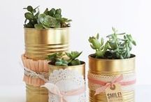 SOUP CAN DIY / Feeling crafty? Here are some great ideas to reuse all those soup cans! / by Progresso
